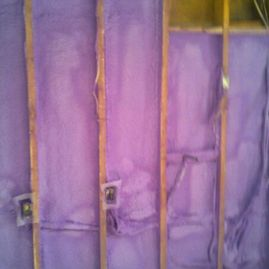 purple insulation